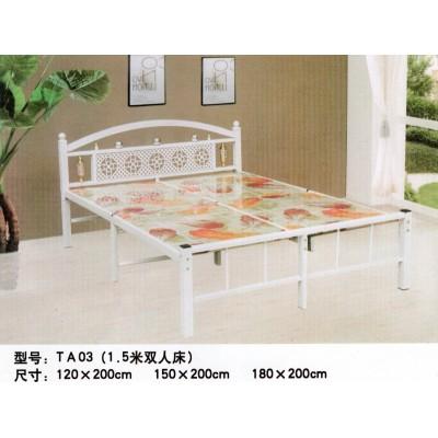 折叠床单人床午睡床木板床加固拼接儿童床双人床