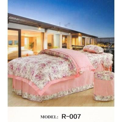 美容床罩四件套纯棉 全棉美容院专用床上用品