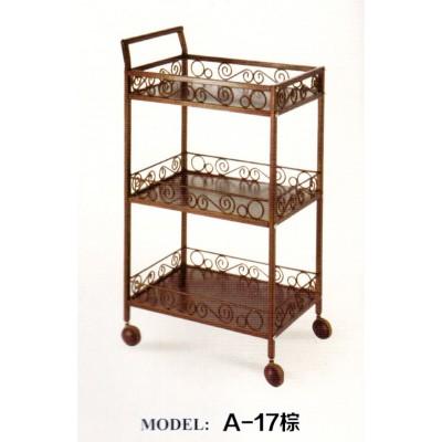 美容推车铁艺美容车小推车三层美甲置物架床发廊架子工具车