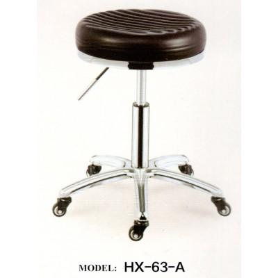 美容椅旋转升降圆凳防爆凳理发椅大工凳美发店转凳圆形滑轮师傅椅