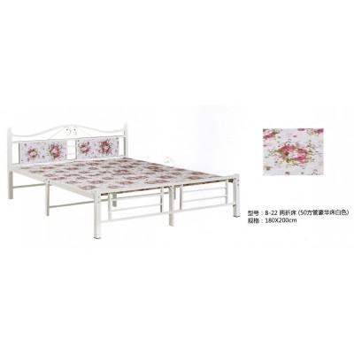 折叠床四折单人床办公室午休床家用简易木板床便携午睡床