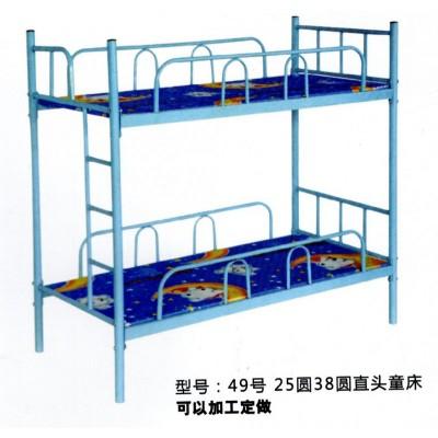 补习班幼儿园儿童上下铺双层铁床学校午休宿舍高低中小学生床