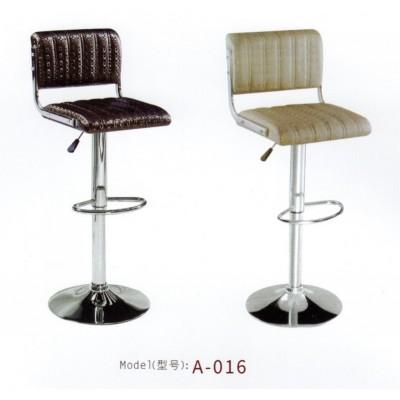 吧台椅升降椅 前台高脚椅靠背吧台凳旋转收银椅子 酒吧椅