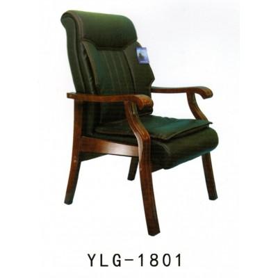 实木办公会议椅真皮四脚椅会议室棋牌麻将老板椅家用电脑椅子
