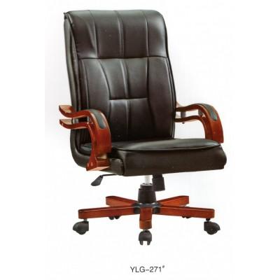 老板椅真皮大班椅实木脚经理转椅主管电脑椅办公椅