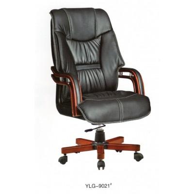 老板椅实木办公椅旋转椅人造革简约真皮办公室会议室椅子大班椅