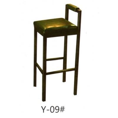复古吧椅创意吧椅美式吧凳前台办公铁艺酒吧椅创意高脚铁皮椅皮革