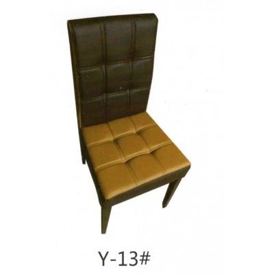 酒店餐椅饭店椅西餐厅家用椅子咖啡厅靠背椅休闲软包皮革椅子座椅