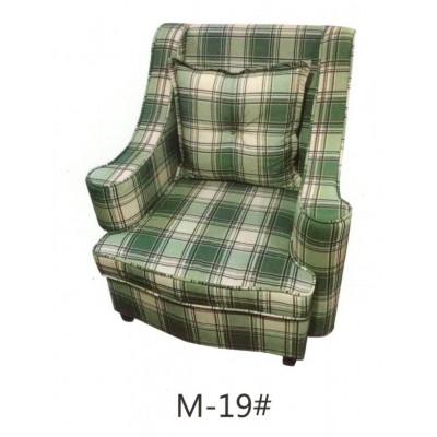 美式布艺沙发组合客厅小户型老虎凳田园乡村老虎椅地中海休闲沙发