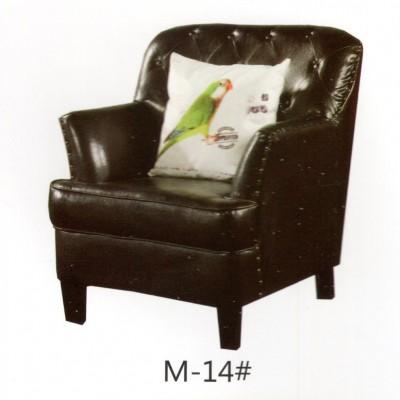 美式真皮沙发休闲单人老虎椅客厅书房卧室复古真皮懒人老虎凳