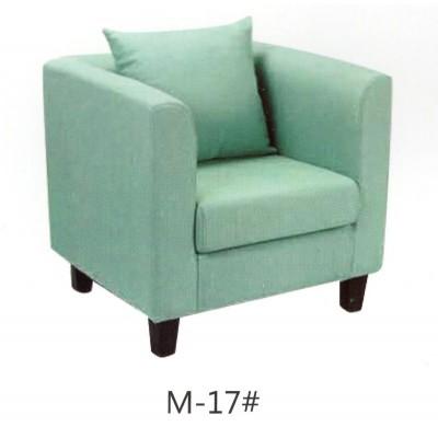 单人午休两人小户型酒吧布艺沙发清新小型白色咖啡蓝色