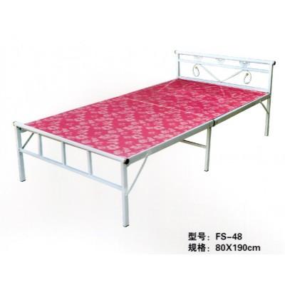 成人折叠床铁床木板床家用单人床出租房简易双人床加固午休经济型