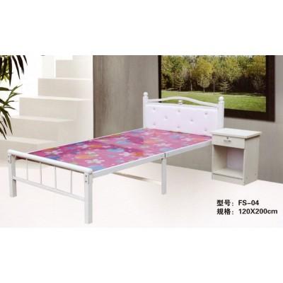 两折床单人床木板床海绵床午休折叠床儿童保姆床