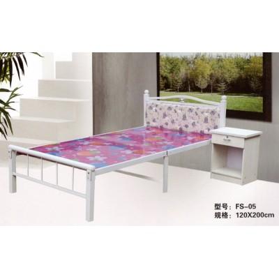 单人折叠床办公室午睡床家用儿童床简易行军床陪护床铁艺木板床