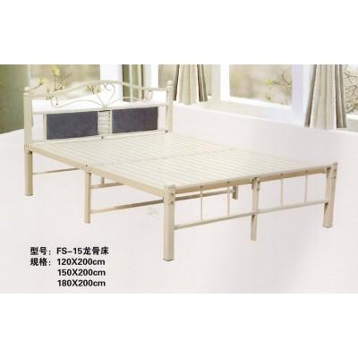 折叠床单人床欧式家用加固双人简易床办公室铁艺午休床