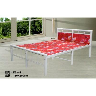加固折叠床环保床四折床铁艺床午休陪护床简易木板床