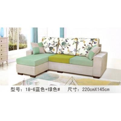 布艺沙发可拆洗公寓书房小客厅小户型多功能L型组合小款沙发