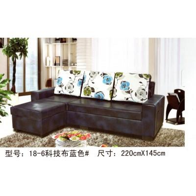 家居沙发床可折叠客厅小户型推拉床多功能简约现代真皮沙发床
