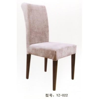 酒店餐椅实木简约布艺沙发椅现代时尚靠背椅咖啡椅会议洽谈椅