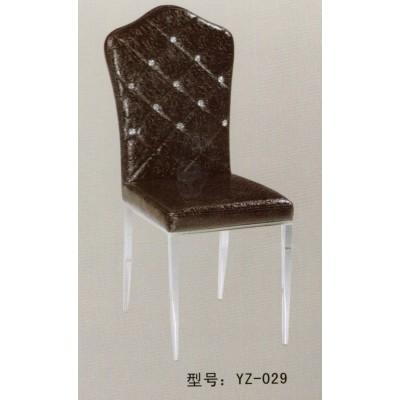 酒店茶餐厅西餐厅饭店铁艺软包高靠背餐椅宴会皮椅