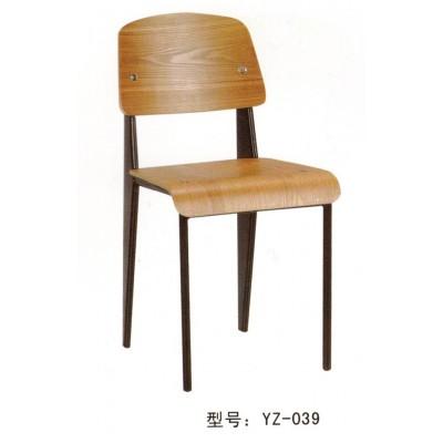 曲木餐椅咖啡椅 餐厅多用椅 实木书桌椅 书房椅 办公培训椅子
