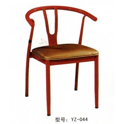 铁艺餐椅布艺带扶手靠背休闲铁椅子家用电脑椅简约现代餐厅椅金属
