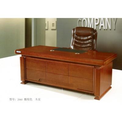简约老板桌办公家具大班台现代经理桌烤漆总裁桌椅组合大气办公桌