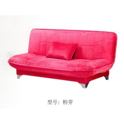 小户型折叠沙发床客厅单人双人三人简易两用布艺懒人麻布沙发
