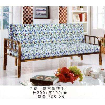 简易可折叠多功能沙发小户型双人两用午休布艺沙发床鸿运家具