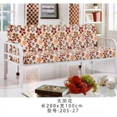 简易可折叠多功能沙发小户型单人双人两用午休布艺沙发床鸿运家具