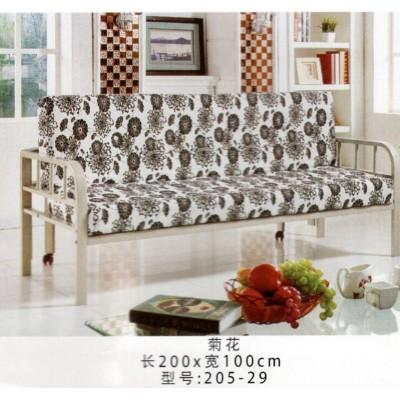 沙发小户型双人三人沙发可折叠出租房经济型简易客厅沙发鸿运家具