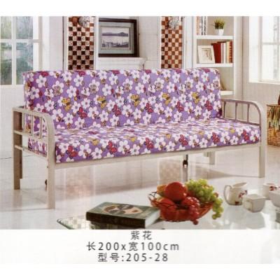 沙发床懒人沙发可折叠沙发沙发床 铁架沙发床布艺沙发床鸿运家具