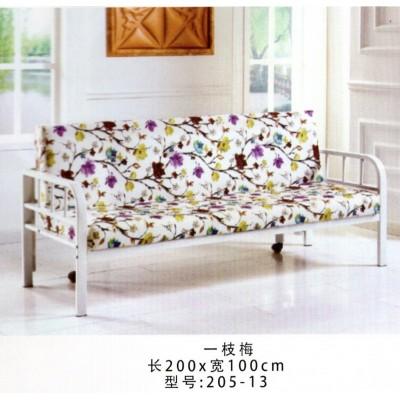 沙发床多功能小户型可折叠沙发床单人双人简易沙发布艺鸿运家具