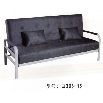 北欧木扶手皮艺沙发小户型客厅组合现代简约经济皮艺沙发鸿运家具