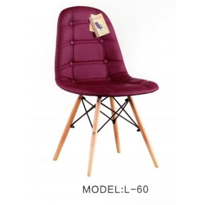伊姆斯家用椅书桌椅电脑椅餐椅实木椅靠背椅磊琪隆办公家具