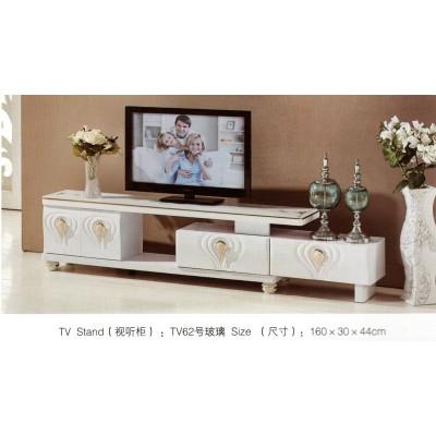 现代客厅简约茶几石头面小户型大理石烤漆茶几电视柜新华峰家具
