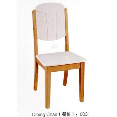 实木餐椅餐厅椅子白色餐椅靠背椅子家用木质凳子新华峰家具