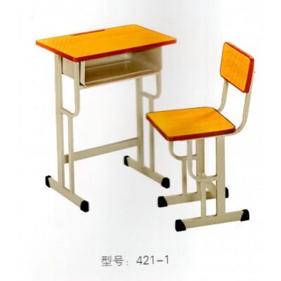 儿童学习写字书桌学校辅导培训班学生桌椅华宇家具