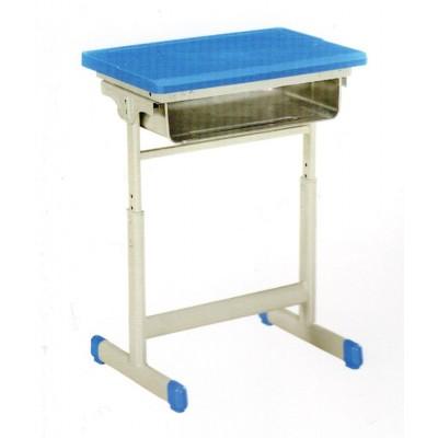 学校儿童课桌椅校园小学生培训桌小孩可升降辅导班课桌椅华宇家具