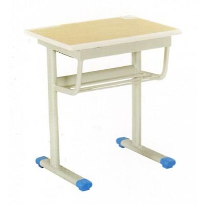单人学校培训班环保学习桌子 可升降塑料儿童学习桌套装华宇家具