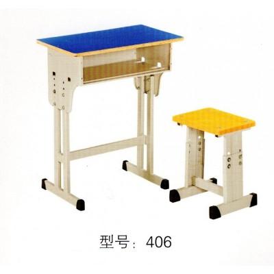 单双人中小学生辅导班培训学习课桌椅加厚升降型学习桌椅华宇家具