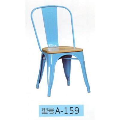 铁艺工业风餐椅简约loft餐椅餐厅轻奢金属靠背椅子东福超强