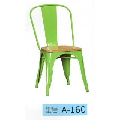铁艺餐椅餐厅椅子做旧休闲咖啡厅金属铁皮凳子靠背铁皮椅东福超强