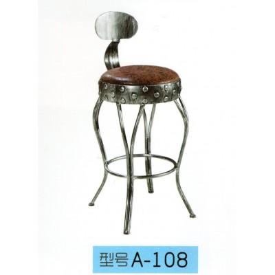 欧式实木吧台椅美式家用高脚凳靠背吧台凳旋转高凳子东福超强