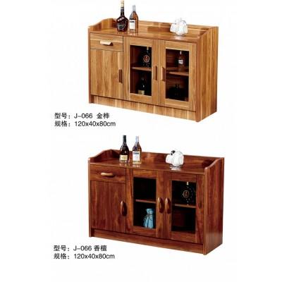 餐边柜储物柜茶水柜实木色边柜碗柜厨房柜子现代简约客厅酒柜餐柜