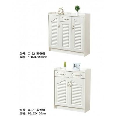 鞋柜简约现代玄关门厅鞋柜大容量储物柜实木