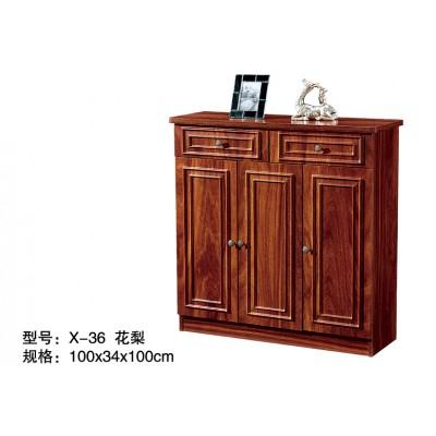 鞋柜实木色美式玄关柜简约现代门厅柜阳台储物柜大容量门口鞋柜