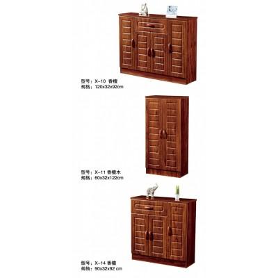 实木鞋柜美式入户玄关省空间家用门厅柜隔断