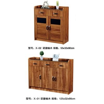 简约实木质鞋柜简约现代门厅柜大容量简易经济型省空间家用玄关柜