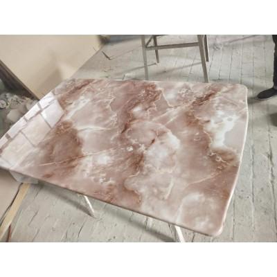 板台面仿大理石平板金刚晶餐桌餐台面长方形永晟理石